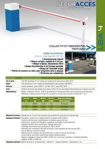 Documentation de la barrière LBA 4